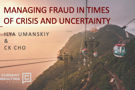 Ideas for Fraud Management in Times of Crisis and Uncertainty