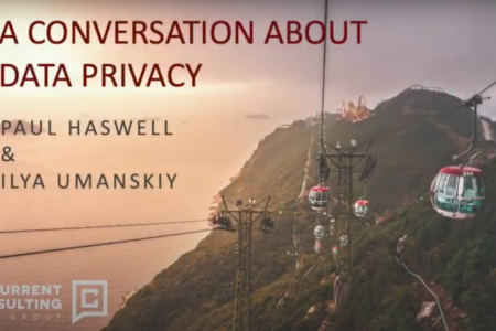 Conversation about data privacy